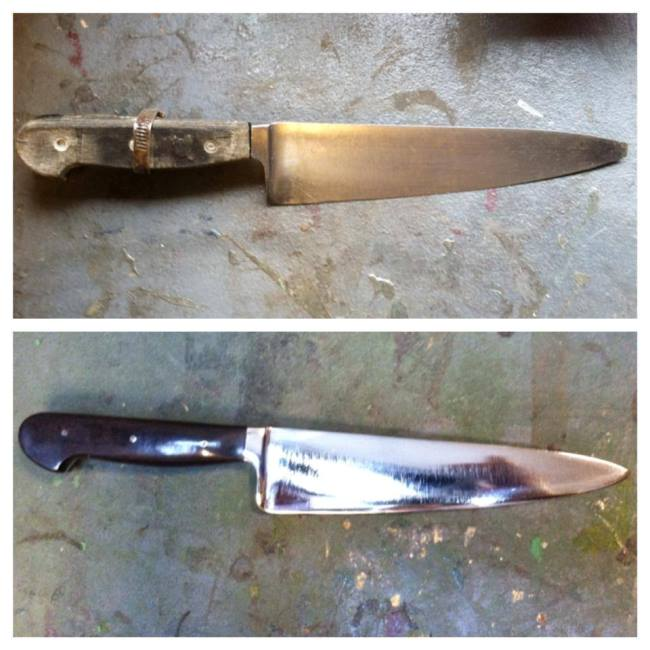 View more about Kitchen Knife Blades Restored by Vulcan Knife
