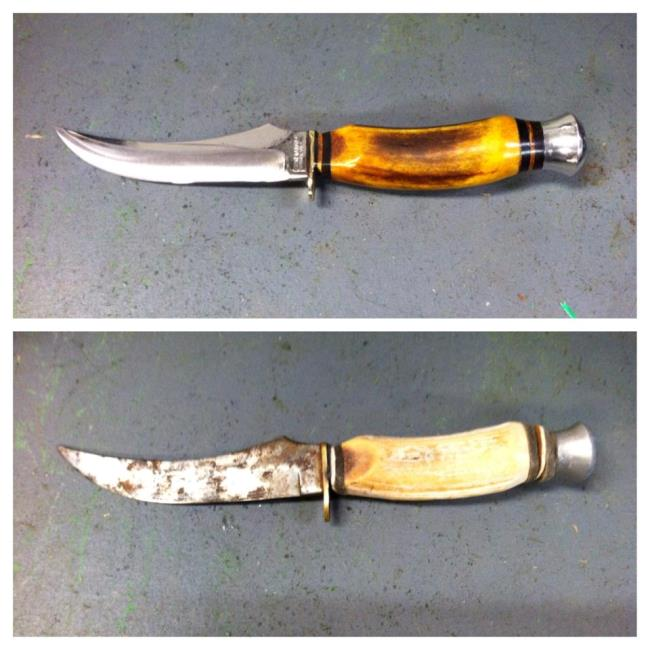 Read more: Hunting Knives Restored by Vulcan Knife