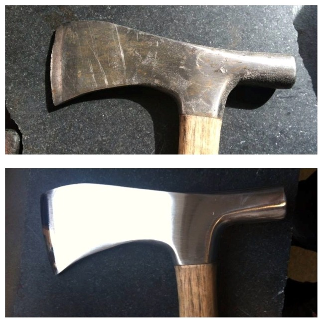 View more about Frankish Hammer Restoration by Vulcan Knife