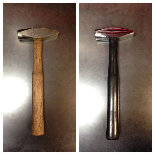 View more about Cross Peen Hammers Restored by Vulcan Knife