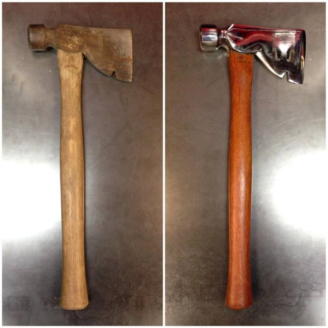 Read more: Restored Roofing Hammer by Vulcan Knife