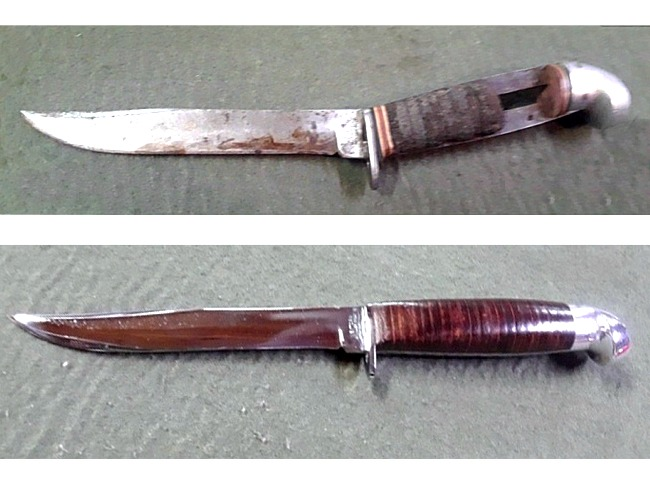 Restored Hunting Knife